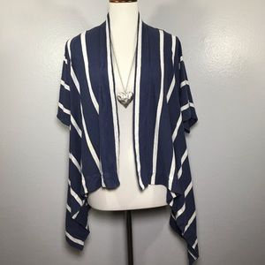 CHICO'S Open Front Waterfall Cardigan Size XL